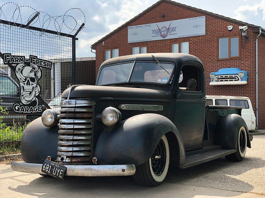 Home Farm Fresh Garage Ltd 1955 Ford F100 Truck Project 1938 Chevy Pickup