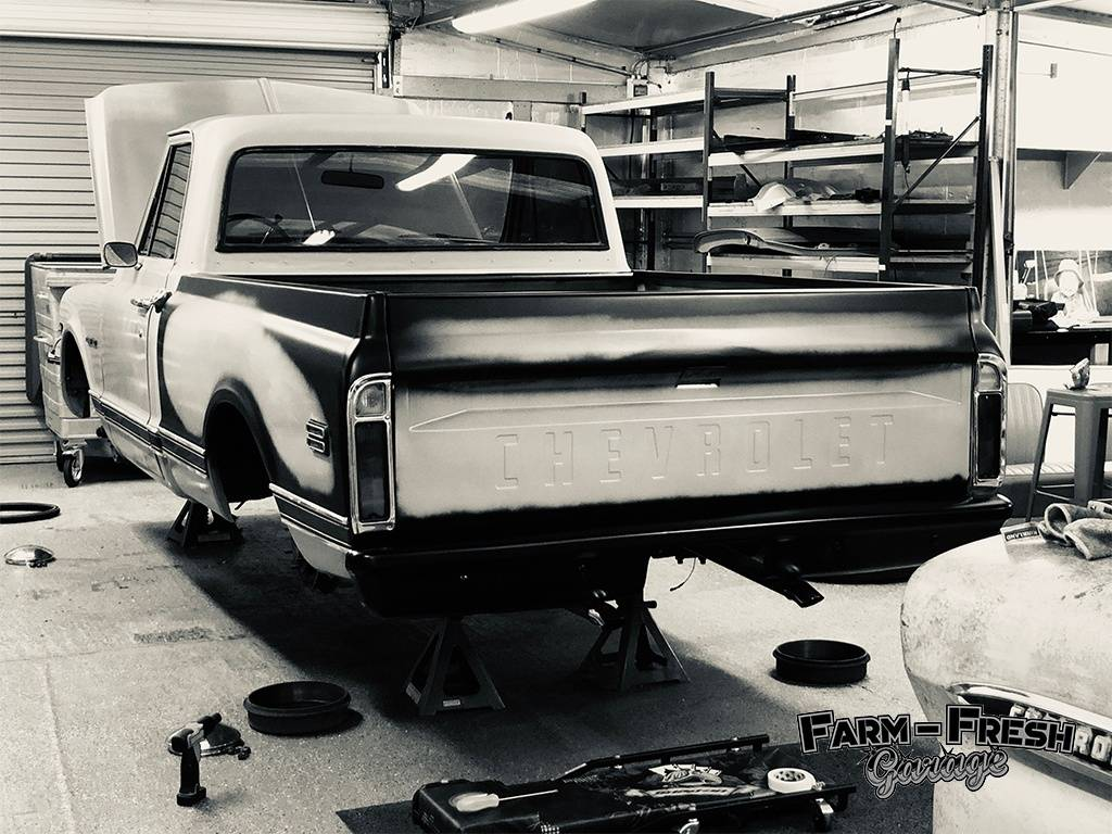 1970 Chevy C10 Pickup Fleetside Short Bed