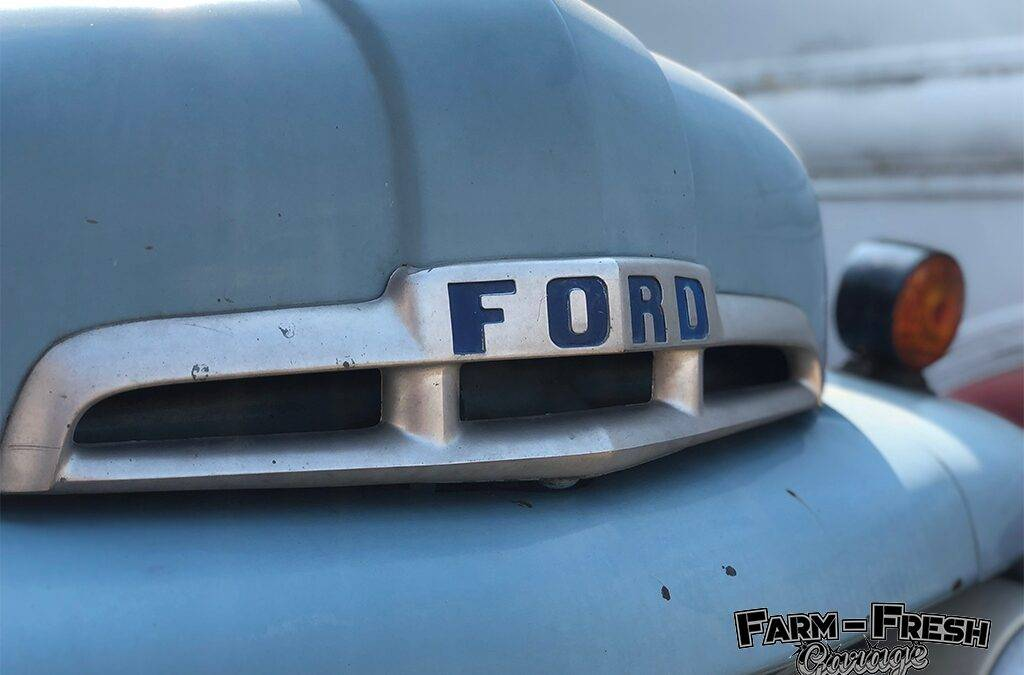 Restored Ford F1 with Modern Running Gear