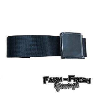 1947-65 Chevrolet / GMC Truck Seat Belt Assembly – Black with Hardware