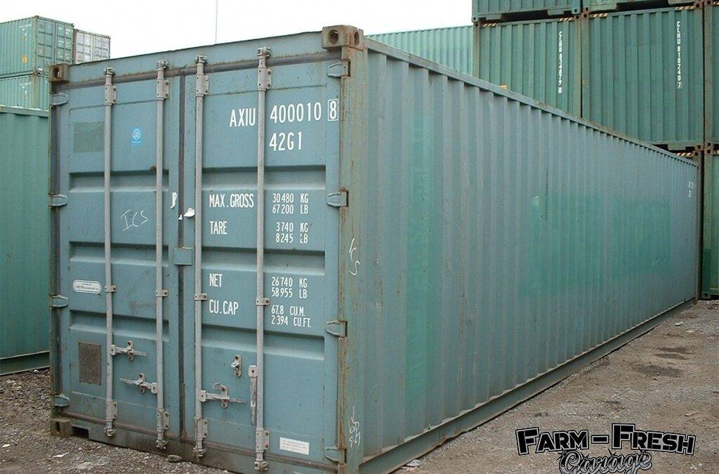 Decembers Container Delivery – 20th Dec 2018