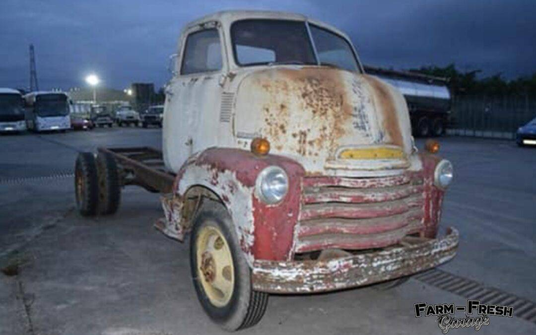 1950 Chevy COE – Custom Van Build