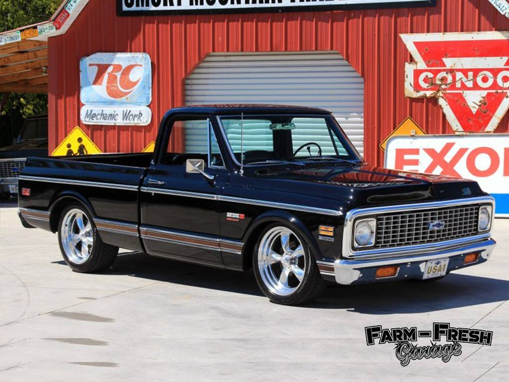 1970 Chevy C10 Fleetside with LS Swap Engine