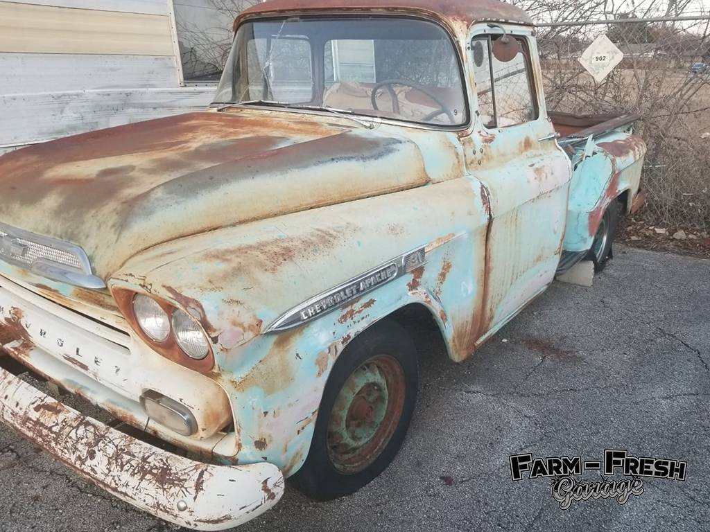 Chevy Apache – Patina