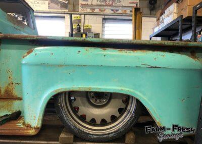 1959 Chevy Apache by Farm Fresh Garage - air out