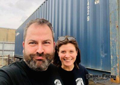 Dave & Roxy by Container