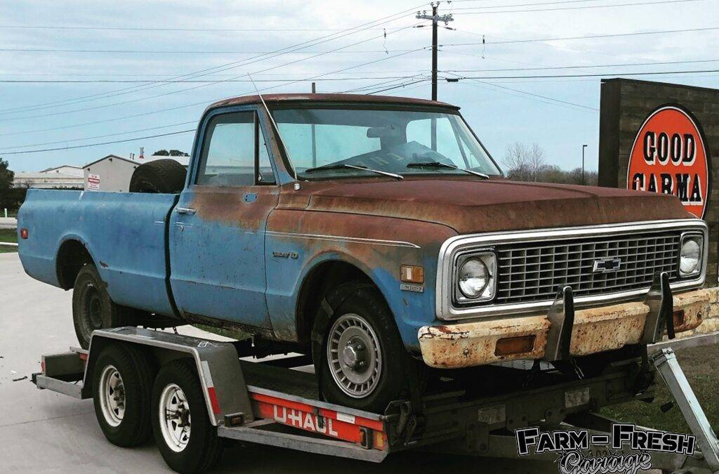 1972 Chevy C10 with Great Patina