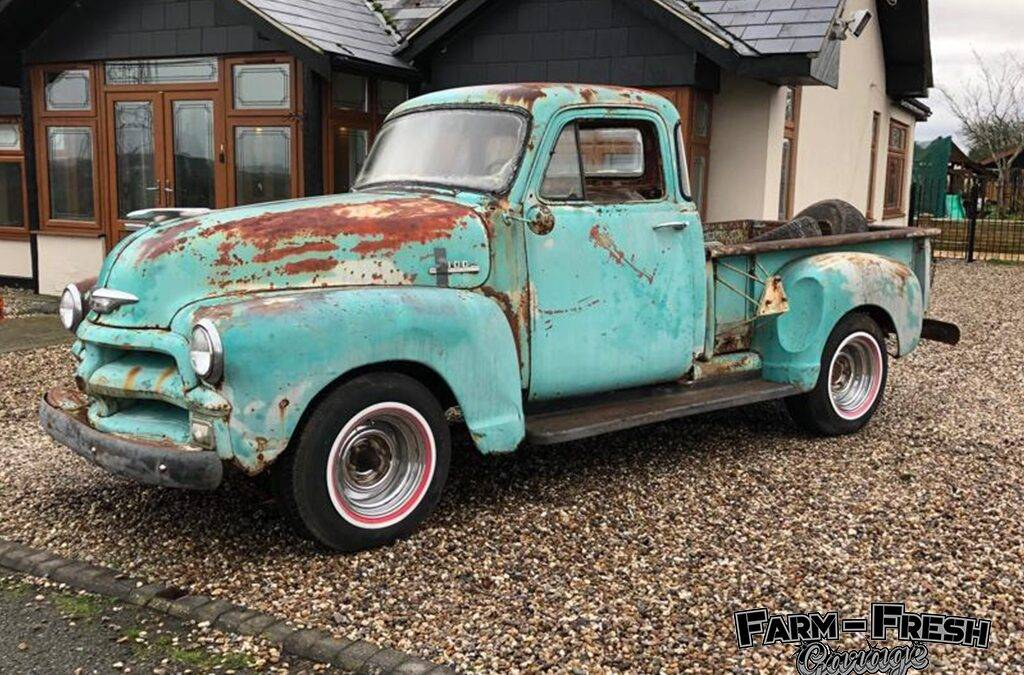 1954 Chevy Pick Up Rat Rod Build – 3100
