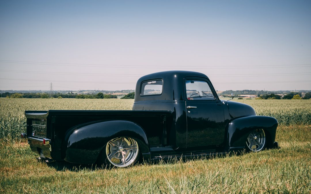 Chevy 3100 Hot Rod – Black Bagged…