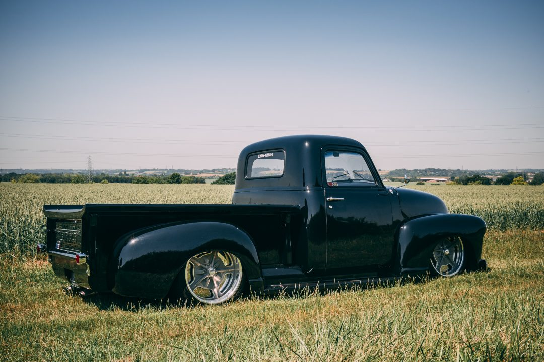 Chevy 3100 Hot Rod – Black Bagged…
