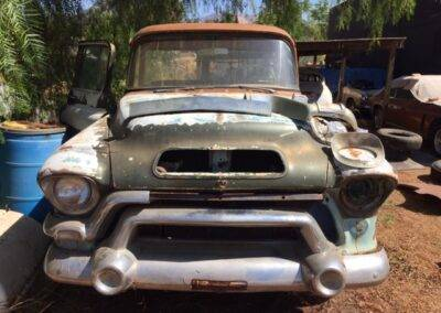 1956 GMC Big Back Window – Factory V8