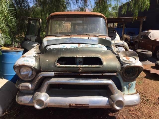 1956 GMC Big Back Window – Factory V8