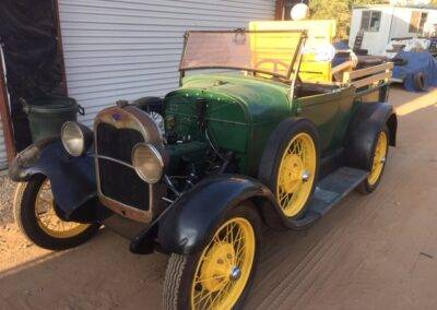 1929 Ford Roadster Pickup – On Route