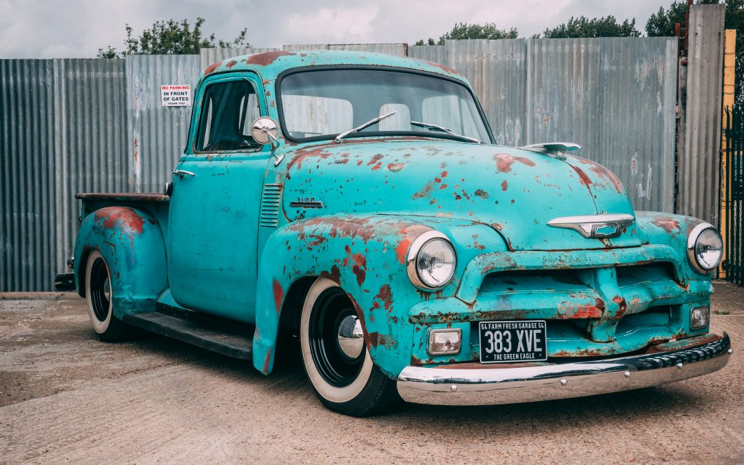 1954 Chevy Pick Up Rat Rod – #Rogue1