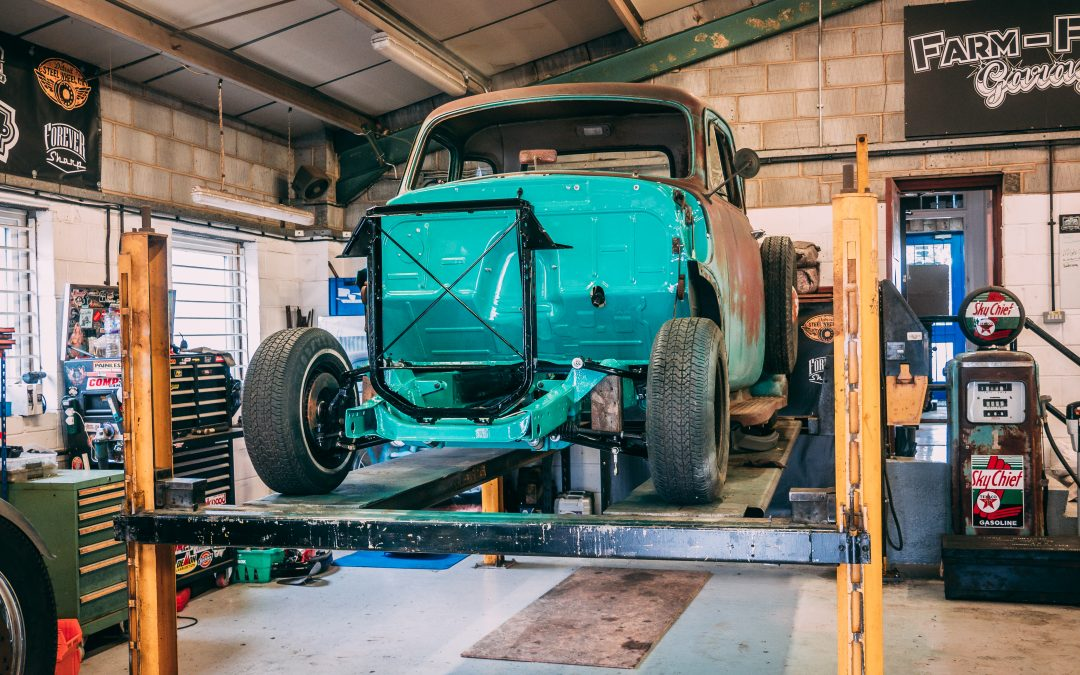 1954 Chevy 3100 – Original Style with Patina but…