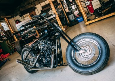 Harley Davidson Bobber Build