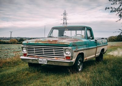 Ford F100 With Great Patina – £11995