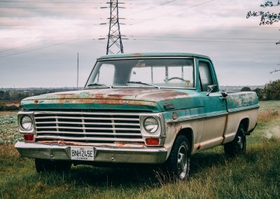 Patina Ford Truck